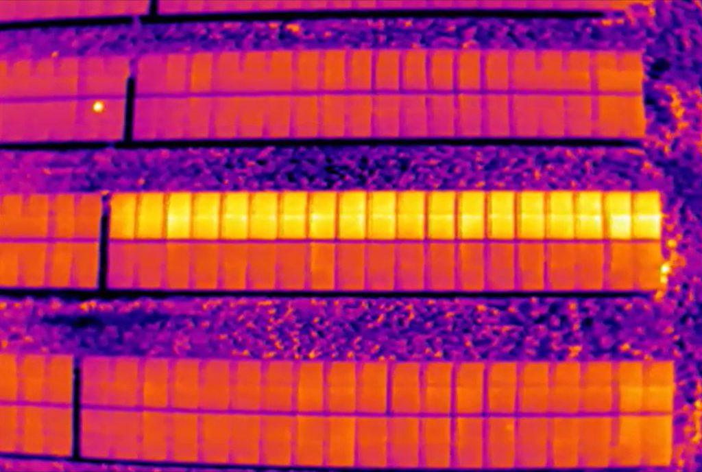 Drone inspectie zonnepanelen