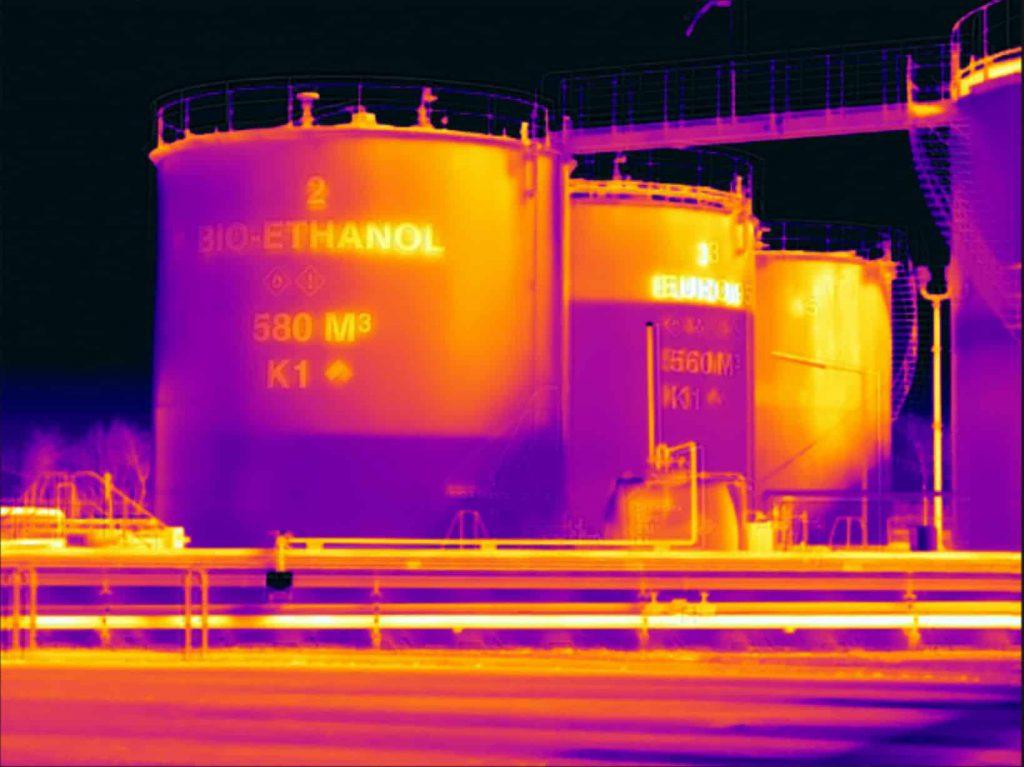 Projecten van thermografiekeur op het gebied van thermografie