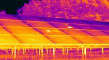 Thermografie ter controle van zonnepanelen bij zonneparken en zonneweides